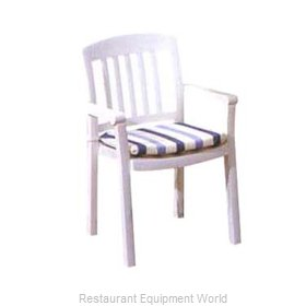 Grosfillex 49442004 Stacking dining armchair