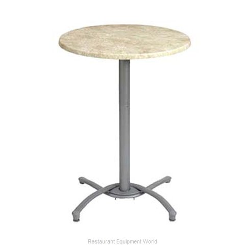 Grosfillex 52812009 Table Base, Metal