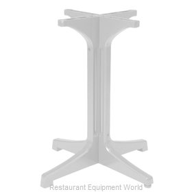 Grosfillex 55631804 Table Base, Plastic