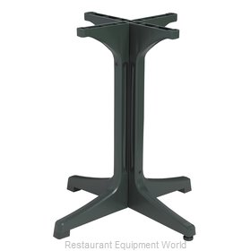 Grosfillex 55631878 Table Base, Plastic