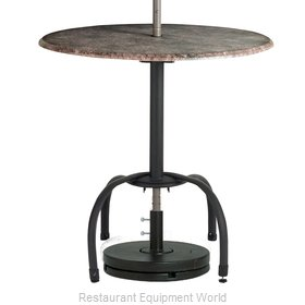 Grosfillex 99528117 Table Base, Metal