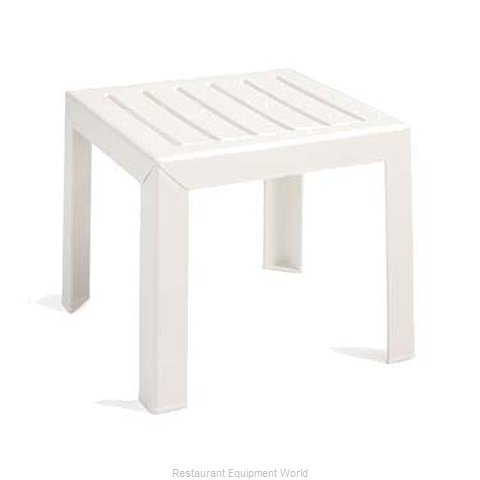 Grosfillex CT052004 Bahia 17'' x 17'' Low Table