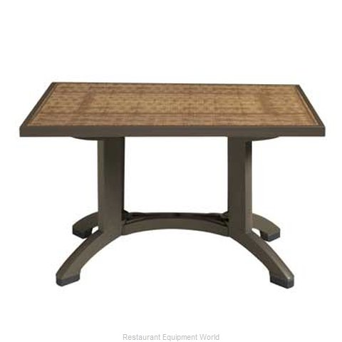 Grosfillex CT745037 Table Outdoor Patio