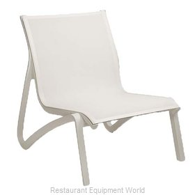Grosfillex US001096 Chair, Lounge, Outdoor