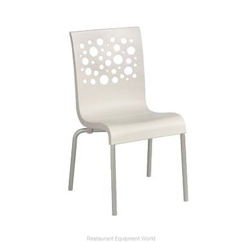 Grosfillex US021004 Chair, Side, Stacking, Indoor
