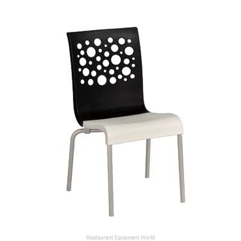 Grosfillex US021017 Chair, Side, Stacking, Indoor