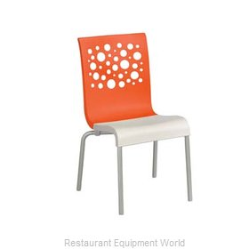 Grosfillex US021019 Chair, Side, Stacking, Indoor