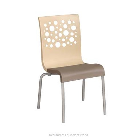 Grosfillex US021413 Chair, Side, Stacking, Indoor