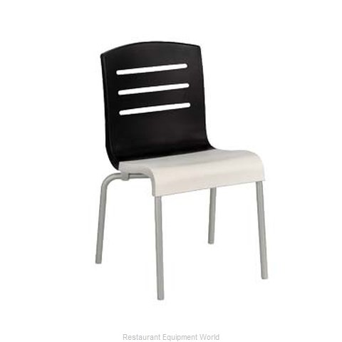 Grosfillex US041017 Chair, Side, Stacking, Indoor
