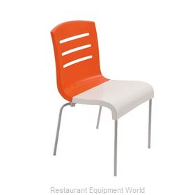 Grosfillex US041019 Chair, Side, Stacking, Indoor