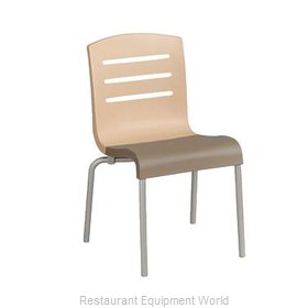 Grosfillex US041413 Chair, Side, Stacking, Indoor
