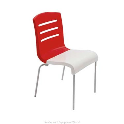 Grosfillex US041414 Chair, Side, Stacking, Indoor
