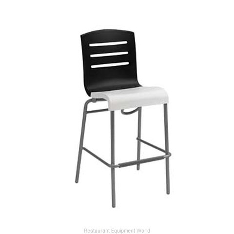 Grosfillex US051017 Bar Stool, Stacking, Indoor