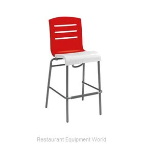 Grosfillex US051414 Bar Stool Stacking Indoor