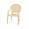 Grosfillex US092066 Chair, Armchair, Stacking, Outdoor