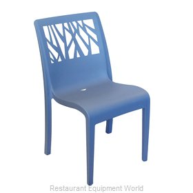 Grosfillex US116680 Chair, Side, Stacking, Outdoor