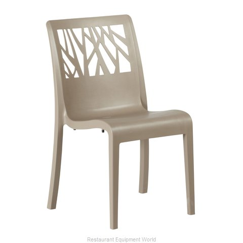 Grosfillex US117181 Chair, Side, Stacking, Outdoor