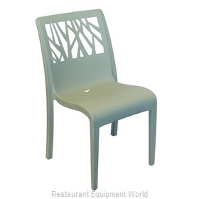 Grosfillex US117721 Chair, Side, Stacking, Outdoor