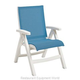Grosfillex US194004 Chair, Folding, Outdoor