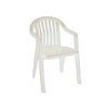 Grosfillex US282304 Chair, Armchair, Stacking, Outdoor