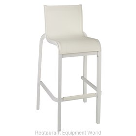 Grosfillex US300096 Bar Stool, Stacking, Outdoor