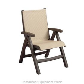 Grosfillex US352037 Chair, Folding, Outdoor