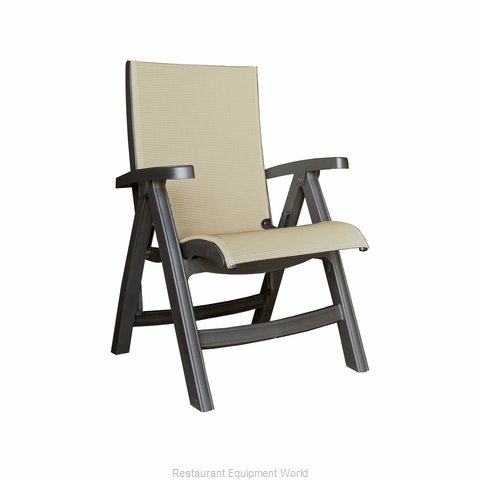 Grosfillex US355002 Chair, Folding, Outdoor