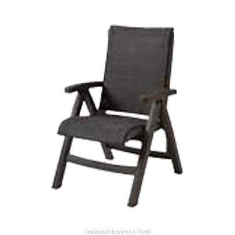 Grosfillex US356037 Chair, Folding, Outdoor