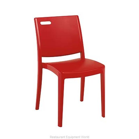 Grosfillex US356202 Chair, Side, Stacking, Outdoor