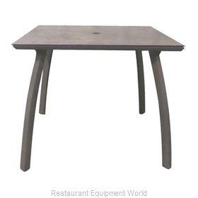 Grosfillex US361288 Table Base, Metal