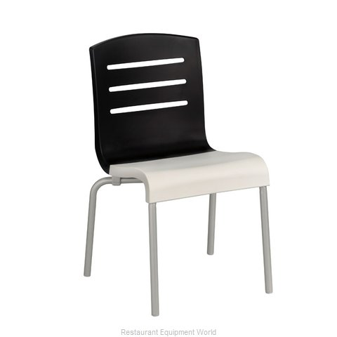 Grosfillex US410017 Chair Side Stacking Indoor