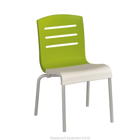 Grosfillex US410152 Chair Side Stacking Indoor