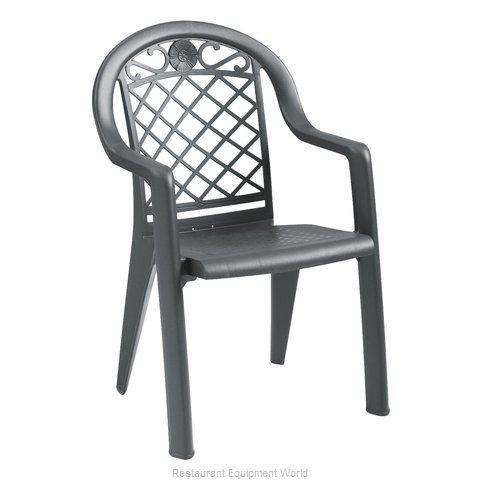 Grosfillex US413102 Chair Armchair Stacking Outdoor