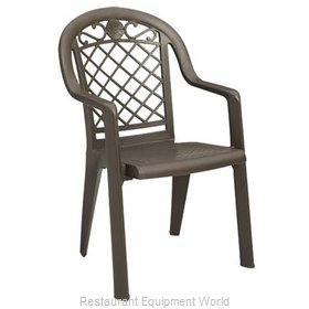 Grosfillex US413137 Chair Armchair Stacking Outdoor