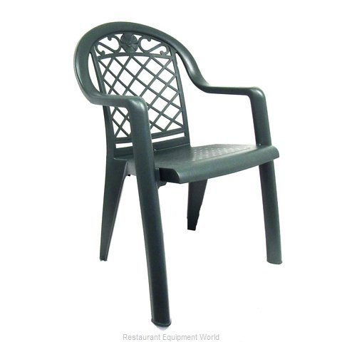 Grosfillex US413185 Chair Armchair Stacking Outdoor