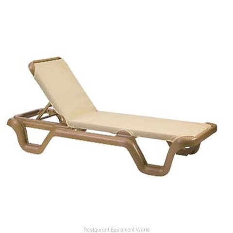 Grosfillex US414108 Chaise Outdoor