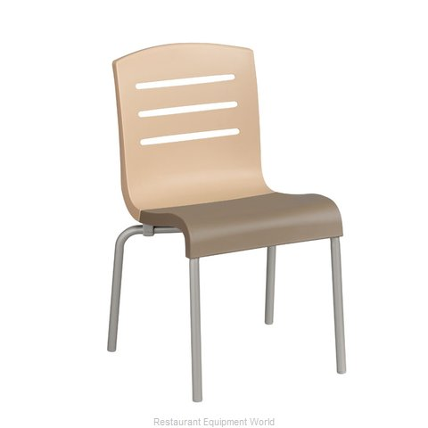 Grosfillex US414413 Chair Side Stacking Indoor