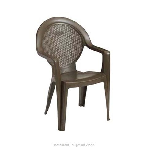 Grosfillex US421037 Chair Armchair Stacking Outdoor