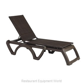 Grosfillex US435037 Chaise, Outdoor