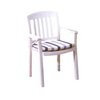 Grosfillex US442004 Chair, Armchair, Stacking, Outdoor