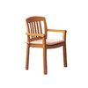 Grosfillex US442008 Chair, Armchair, Stacking, Outdoor