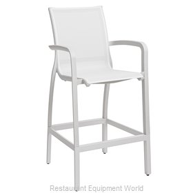 Grosfillex US463096 Bar Stool, Outdoor