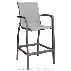 Grosfillex US463288 Bar Stool, Outdoor