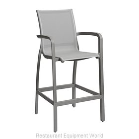 Grosfillex US463289 Bar Stool, Outdoor
