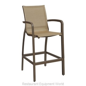 Grosfillex US463599 Bar Stool, Outdoor