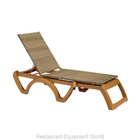 Grosfillex US465208 Chaise Outdoor