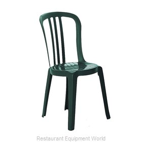 Grosfillex US495078 Chair, Side, Stacking, Outdoor
