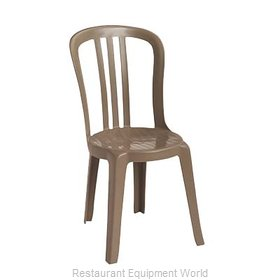 Grosfillex US495181 Chair, Side, Stacking, Outdoor