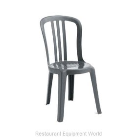 Grosfillex US495502 Chair, Side, Stacking, Outdoor