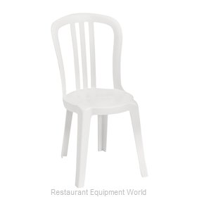 Grosfillex US495504 Chair, Side, Stacking, Outdoor